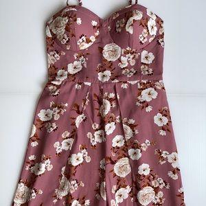 NWT Xhilaration Long Floral Boho Jumpsuit / Romper